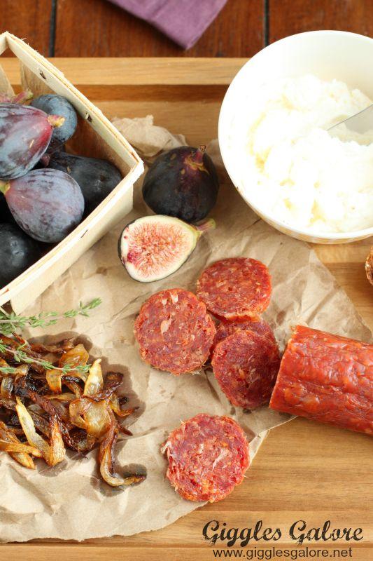 Salami Fig Ingredients