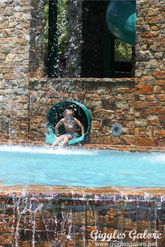 Woodlands Resort Water Slide