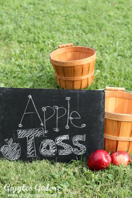 Apple Toss Game