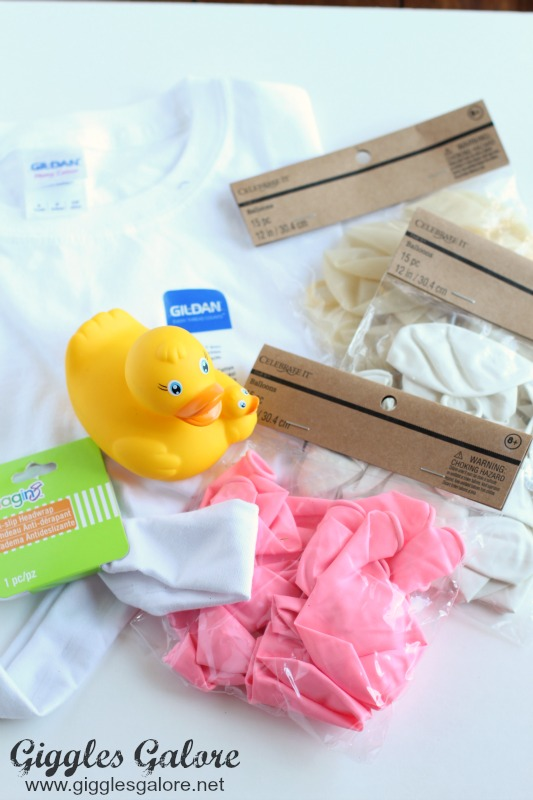 Bubble Bath Costume Supplies