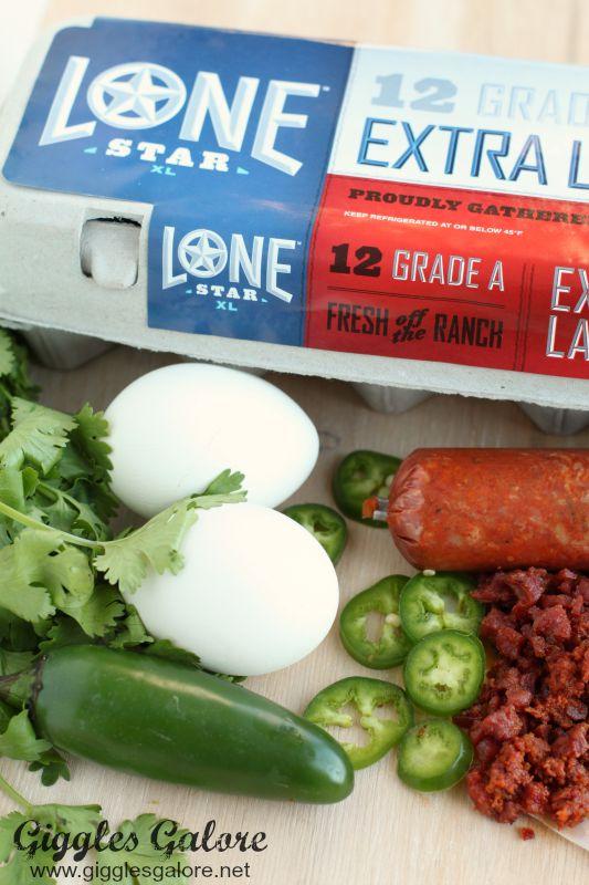 Chorizo Deviled Eggs_LoneStar Eggs