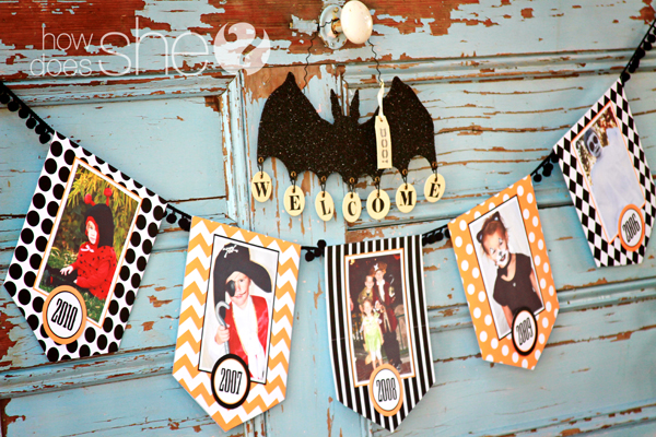 Halloween Photo Banner Kit Printable