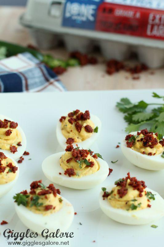 LoneStar Eggs_Chorizo Deviled Eggs