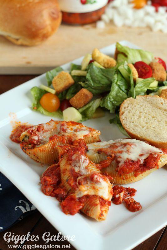 Mezzetta Spinach and Cheese Stuffed Shells