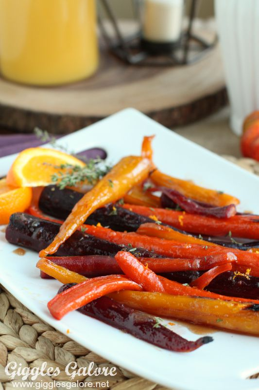 Roasted Rainbow Glazed Carrots_GG