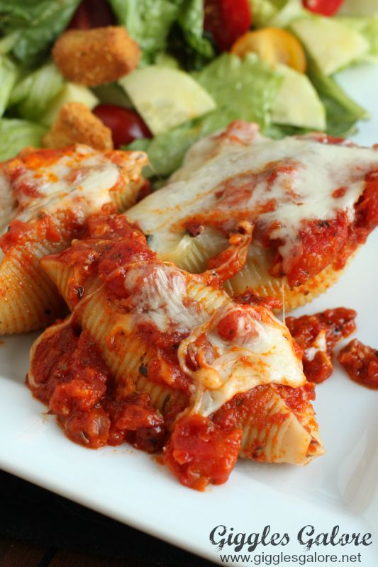 Spinach and Cheese Stuffed Pasta Shells_GG