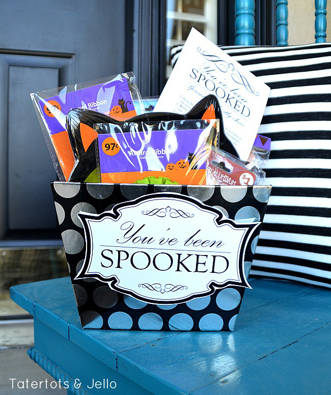 You've Been Spooked Halloween Printable