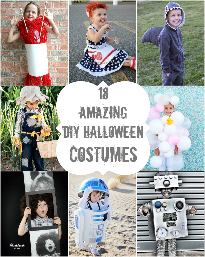 18 amazing diy halloween costumes - Halloween Outfits Pinterest