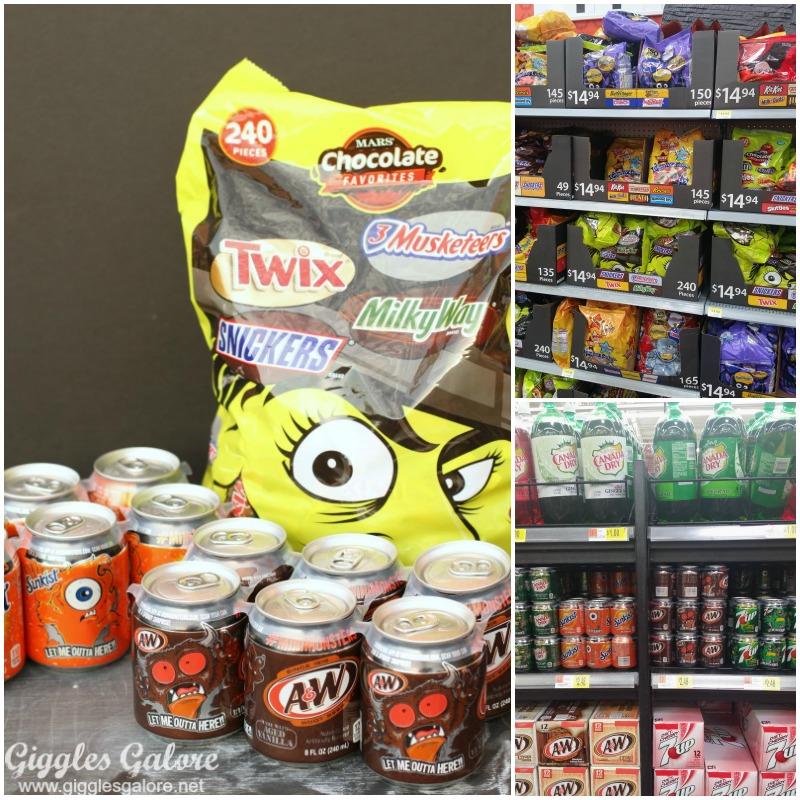 Bat Boo Kit Candy and Soda