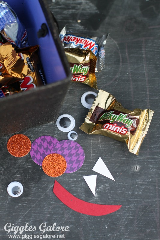 Bat Boo Kit Supplies and Candy