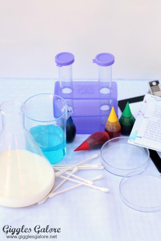 Crazy Color Experiment Supplies
