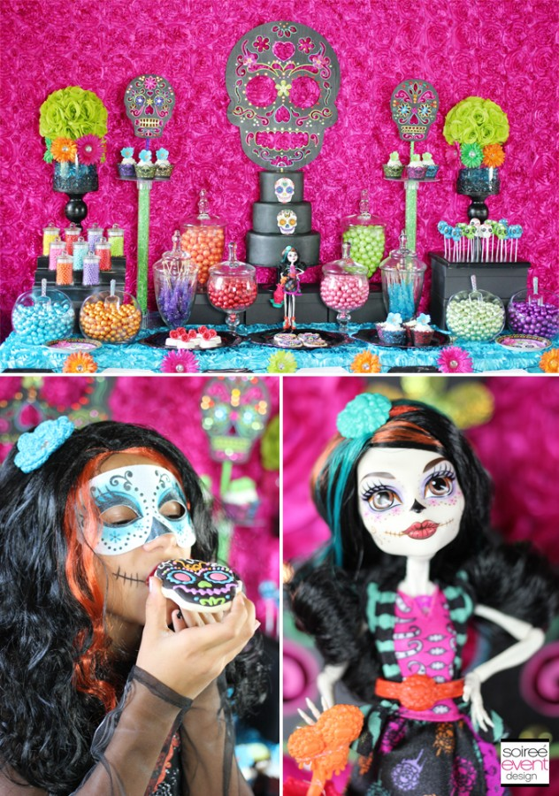 Day of the Dead Halloween Dessert Party