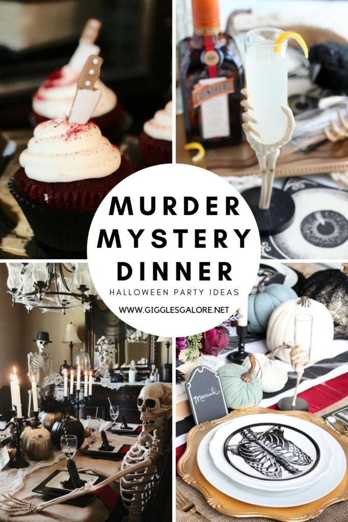 Hallowen Murder Mystery Dinner Party Ideas