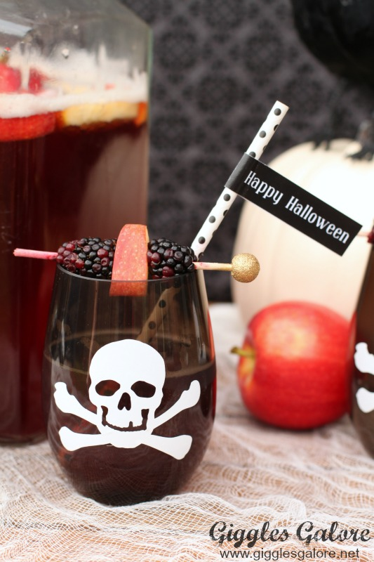 Kid Friendly Halloween Poison Punch