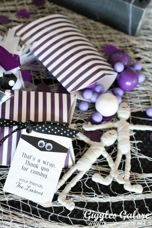 Mummy Party Favors
