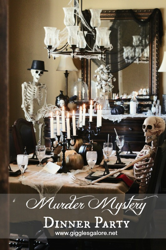 Murder mystery dinner party for Party entertainment ideas adults