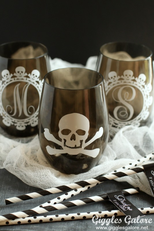 Skull Halloween Cups