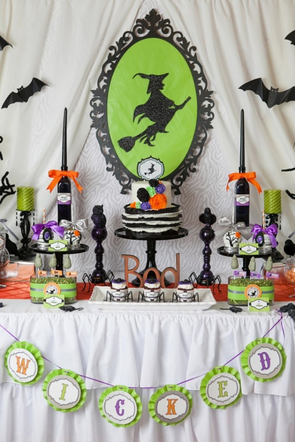 Wickedly Sweet Witch Halloween Party