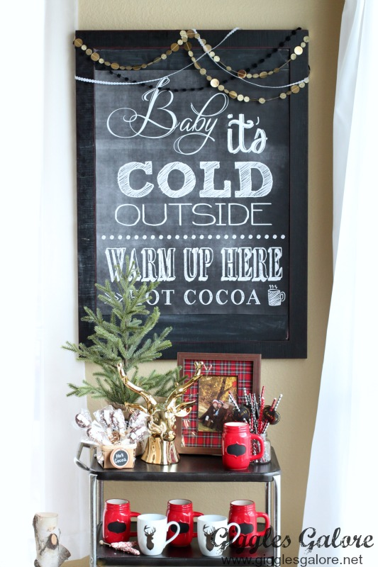 Baby Its Cold Outside Poster
