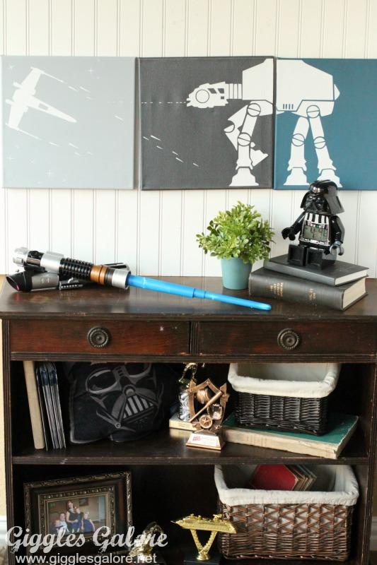 Boys Star Wars Room Art