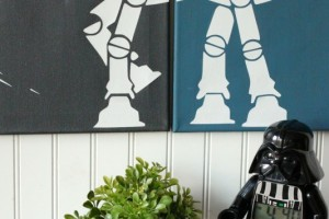 DIY Star Wars Canvas Wall Art
