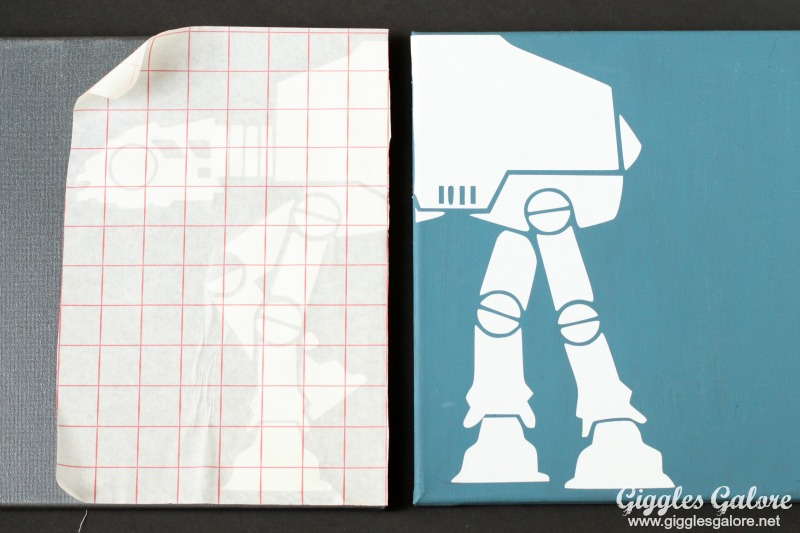 Imperial Walker Star Wars Vinyl