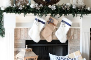 Handmade Holiday Christmas Mantle Decorating Ideas