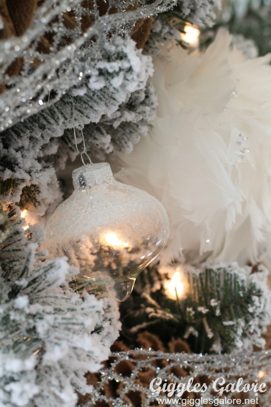 Snow Covered Ornament