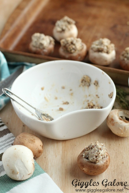 Stuffed Mushroom filling