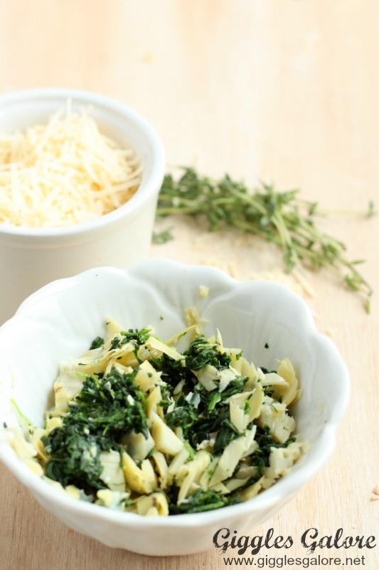 Stuffed Mushrooms_Spinach and Artichoke