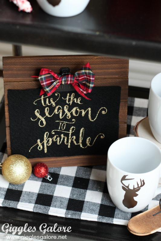 Tis the Season to Sparkle Hot Cocoa Bar