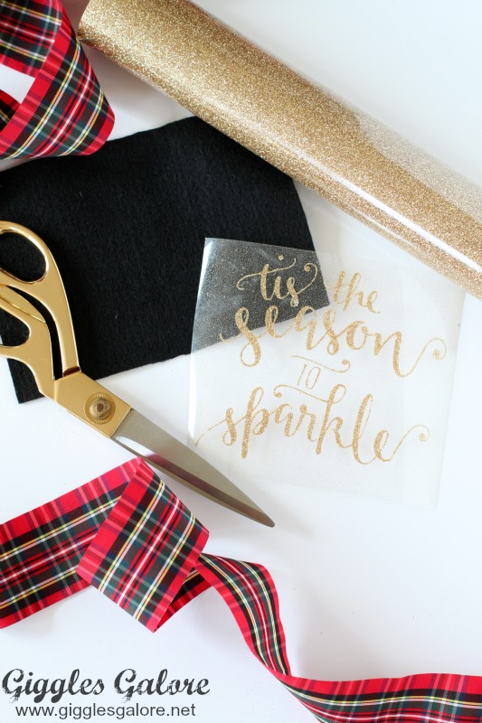 Tis the Season to Sparkle Sign Supplies