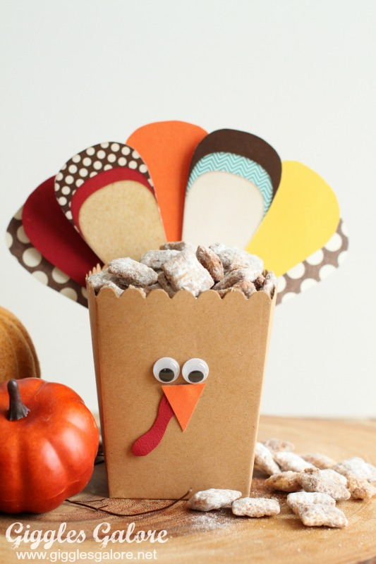 Turkey Treat Box by Mariah Leeson