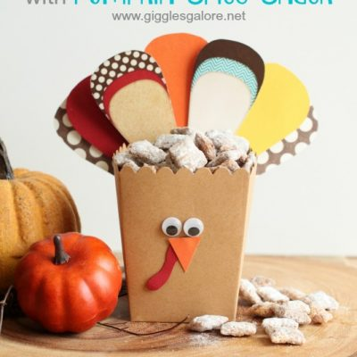 Turkey Treat Box with Pumpkin Spice Snack