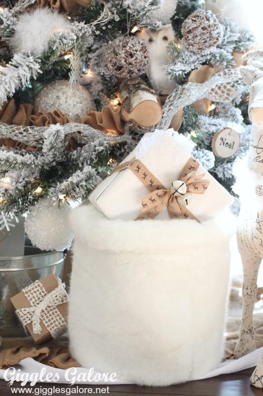 White Fur Tub