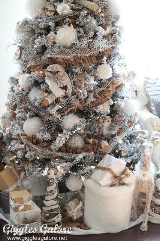 Winter Woodland Christmas Tree Michaels Dream Tree Challenge