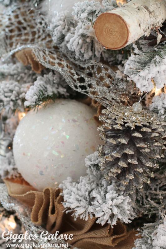 White Styrofoam Ornaments