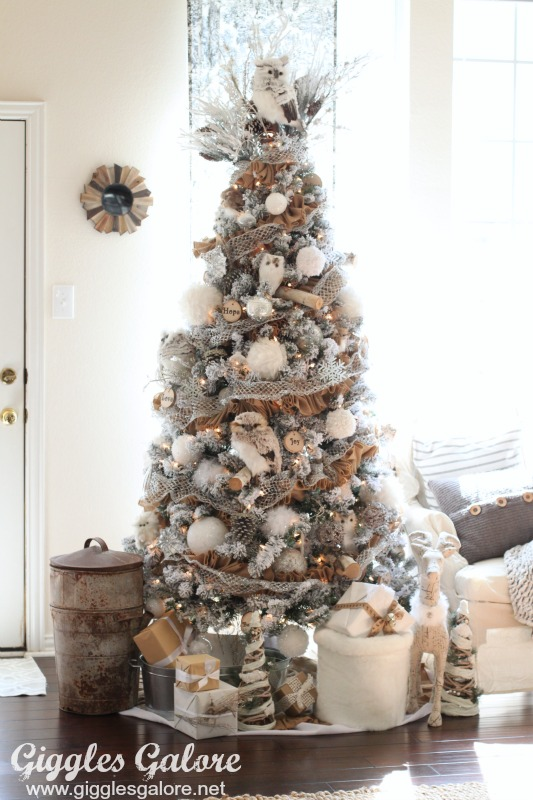 Winter woodland dream tree