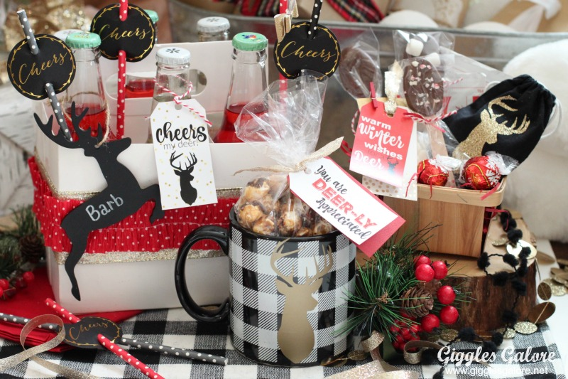 3 Easy DIY Christmas Gifts with Deer Printable Tags