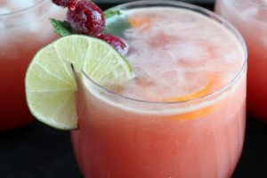 Cranberry Orange Sparkling Punch