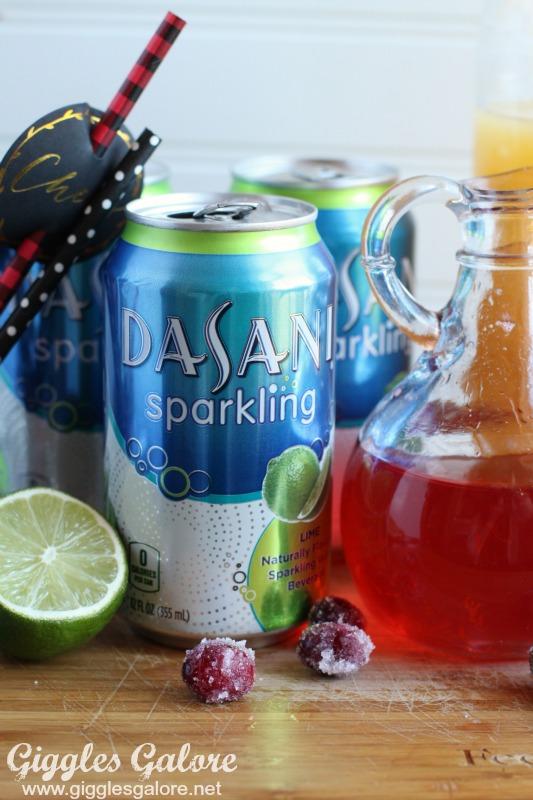 Dasani Sparkling Lime Water
