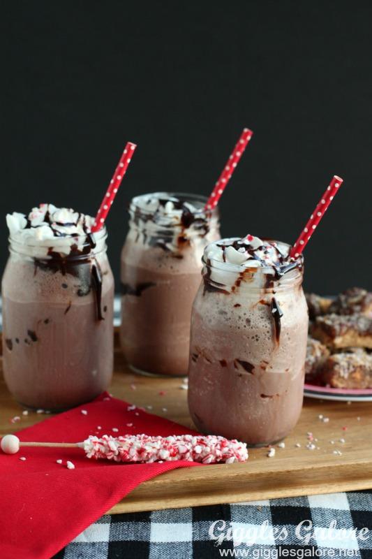 Frozen Hot Chocolate Drinks