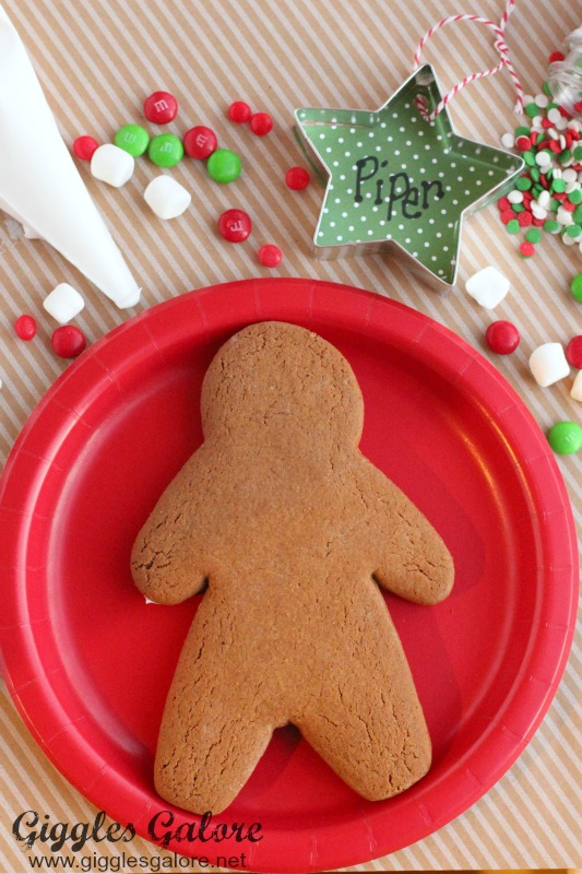 Gingerbread Cookie Decorating Party with Ornament Placecards