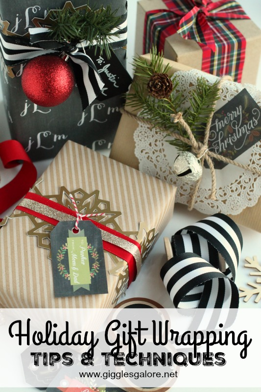Holiday Gift Wrapping Tips & Techniques_Giggles Galore