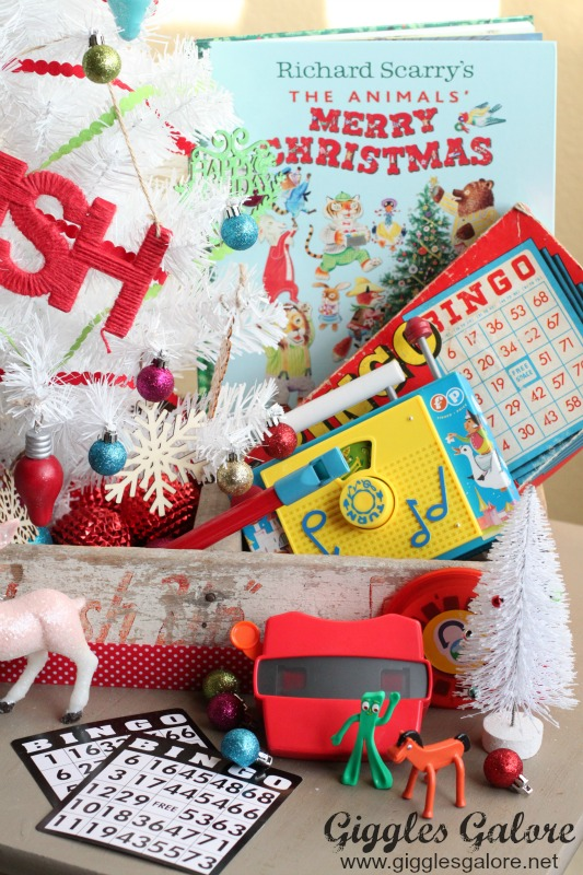 Retro Christmas Toy : Christmas decorating with retro toys