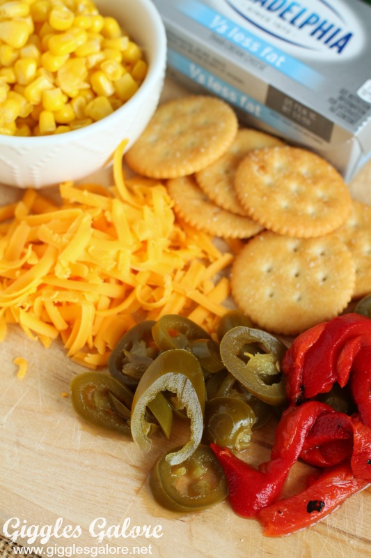 Creamy Jalapeno Dip Ingredients