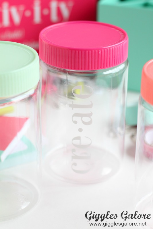 Create Colorful Jars