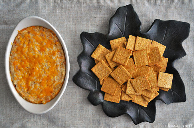 Football Game Day Foods Baked Crab Dip