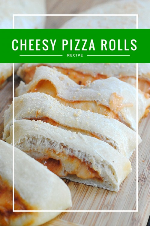 Football Game Day Foods Cheesy Pizza Rolls