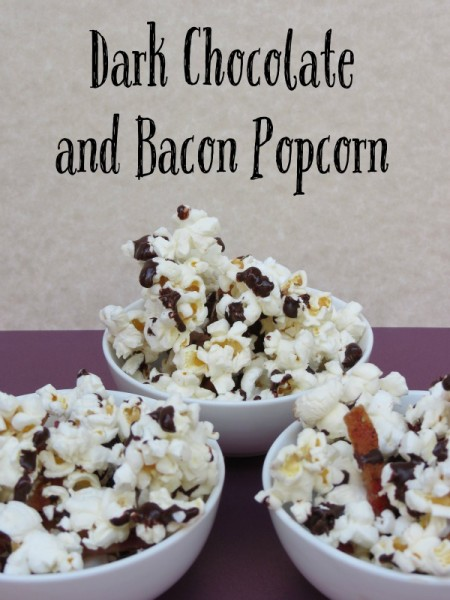 Football Game Day Foods Dark-Chocolate-and-Bacon-Popcorn